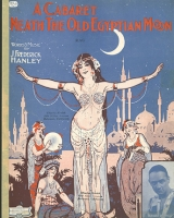 Sheet music, A Cabaret 'Neath the Old Egyptian Moon