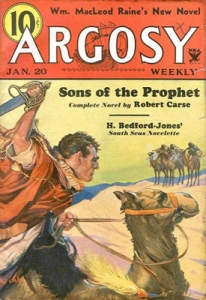 Argosy pulp fiction novel