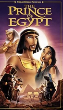 The Prince of Egypt animated film