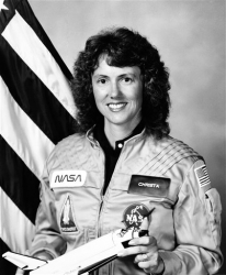 Photo of Christa McAuliffe