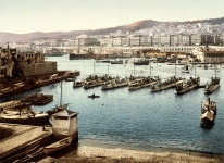The Port Viewed from the Admiralty, Algiers, Algeria