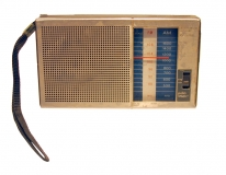 Photo of battery-operated radio