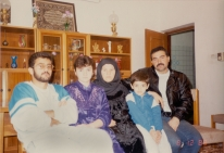 Phot of the Aljaberi family