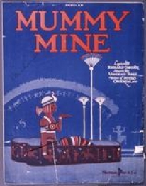Image of Mummy Mine sheet music cover