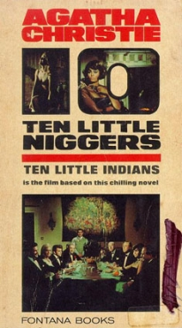 Image of Agatha Christie's Ten Little Niggers book cover