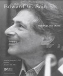 Photo of Dr. Edward Said