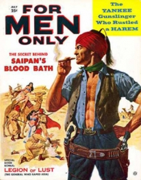 Image of For Men Only, pulp fiction magazine cover