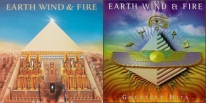 Image of Earth, Wind & Fire album covers