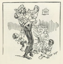 Image of Caricature from The Detroit News