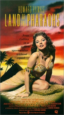 Image of Land of Pharaohs, VHS cover