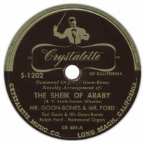 Image of The Sheik of Araby Record