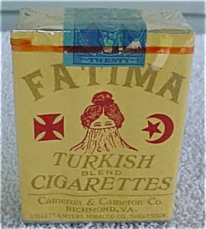 Photo of Fatima cigarettes, Liggett & Myers