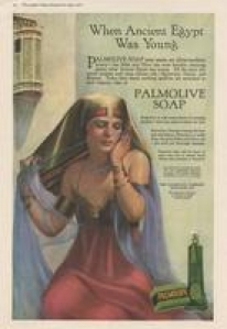Palmolive soap advertisement in Ladies Home Journal