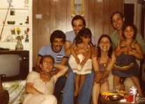 Photo of the Bakri Family from 1970